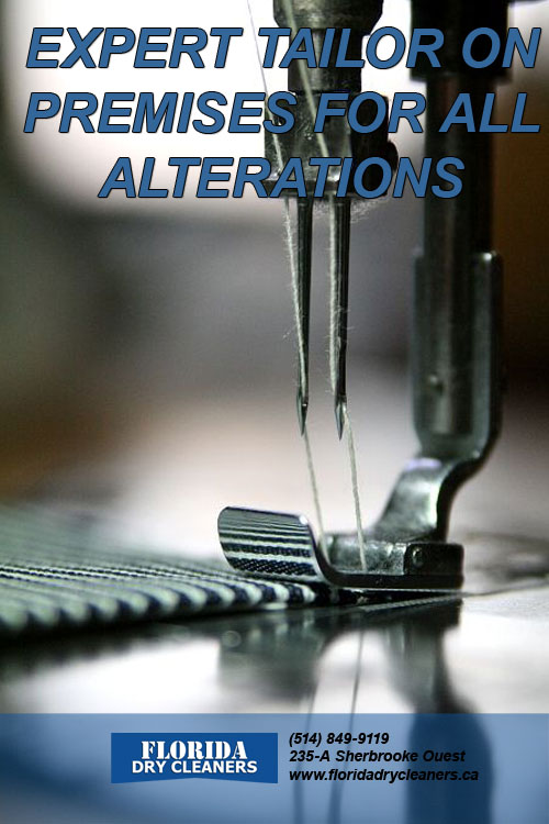 Expert Tailor on Premises for all Alterations